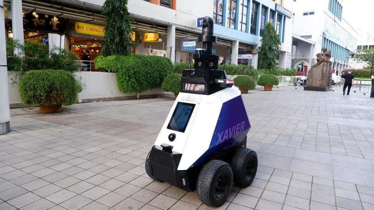 Policía de Singapur usará robots para detectar personas que se comportan mal