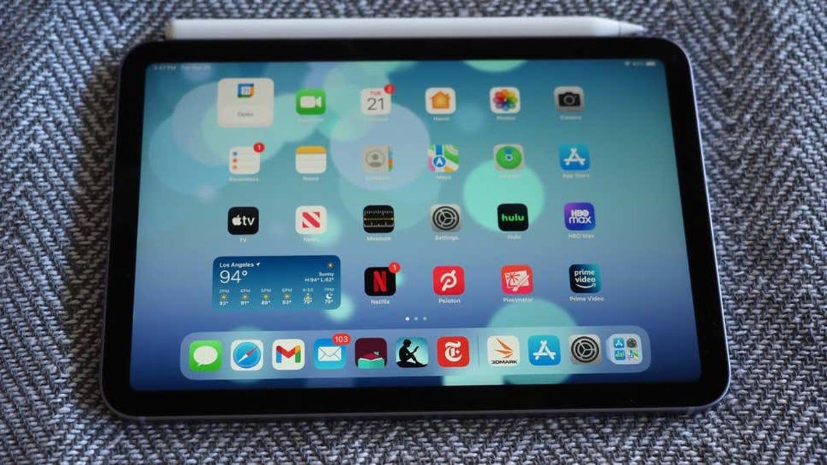 el fallo al usar la pantalla del iPad Mini no es problema