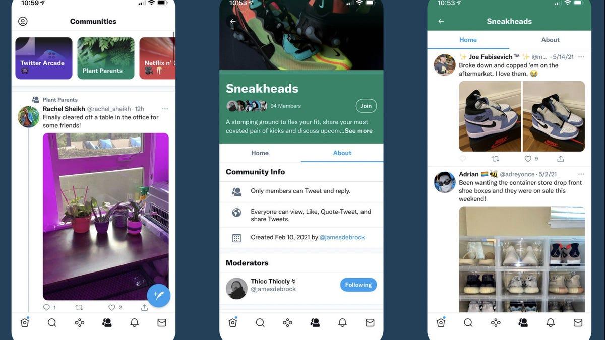 Twitter ahora tiene comunidades de usuarios como grupos de Facebook