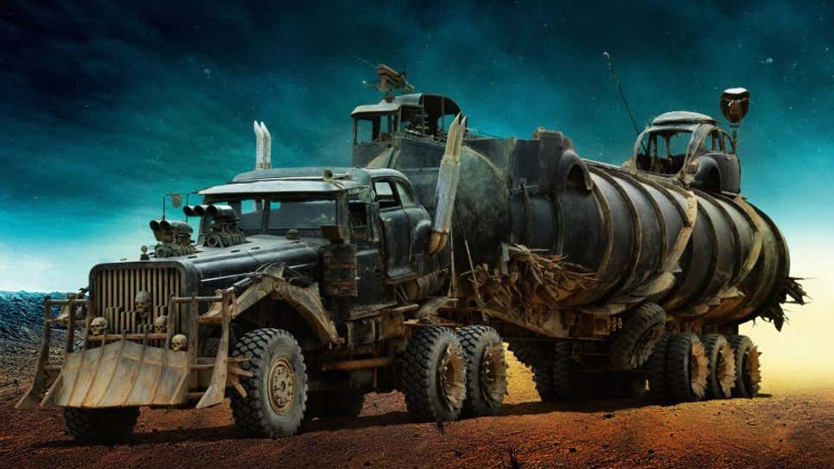 Los coches de Mad Max Fury Road, a subasta
