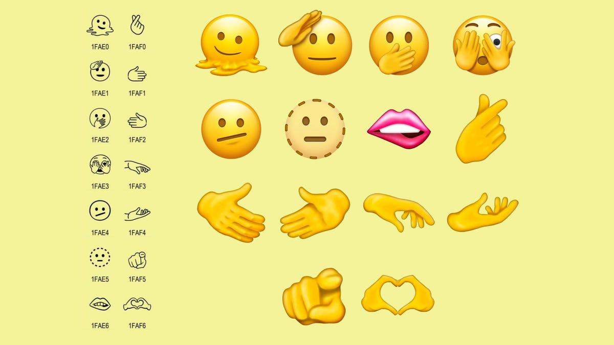 Unicode aprueba 37 nuevos emojis, entre ellos hombre embarazado, labio mordido y el gesto del dinero
