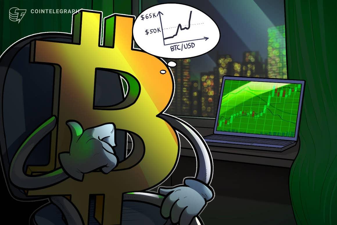 La 'conservadora' métrica de shock de oferta de BTC ahora dice que Bitcoin debería costar al menos USD 55,000