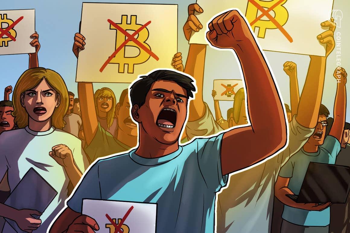 La oposición aumenta a pesar de la entrada en vigor de la ley para su uso como moneda de curso legal
