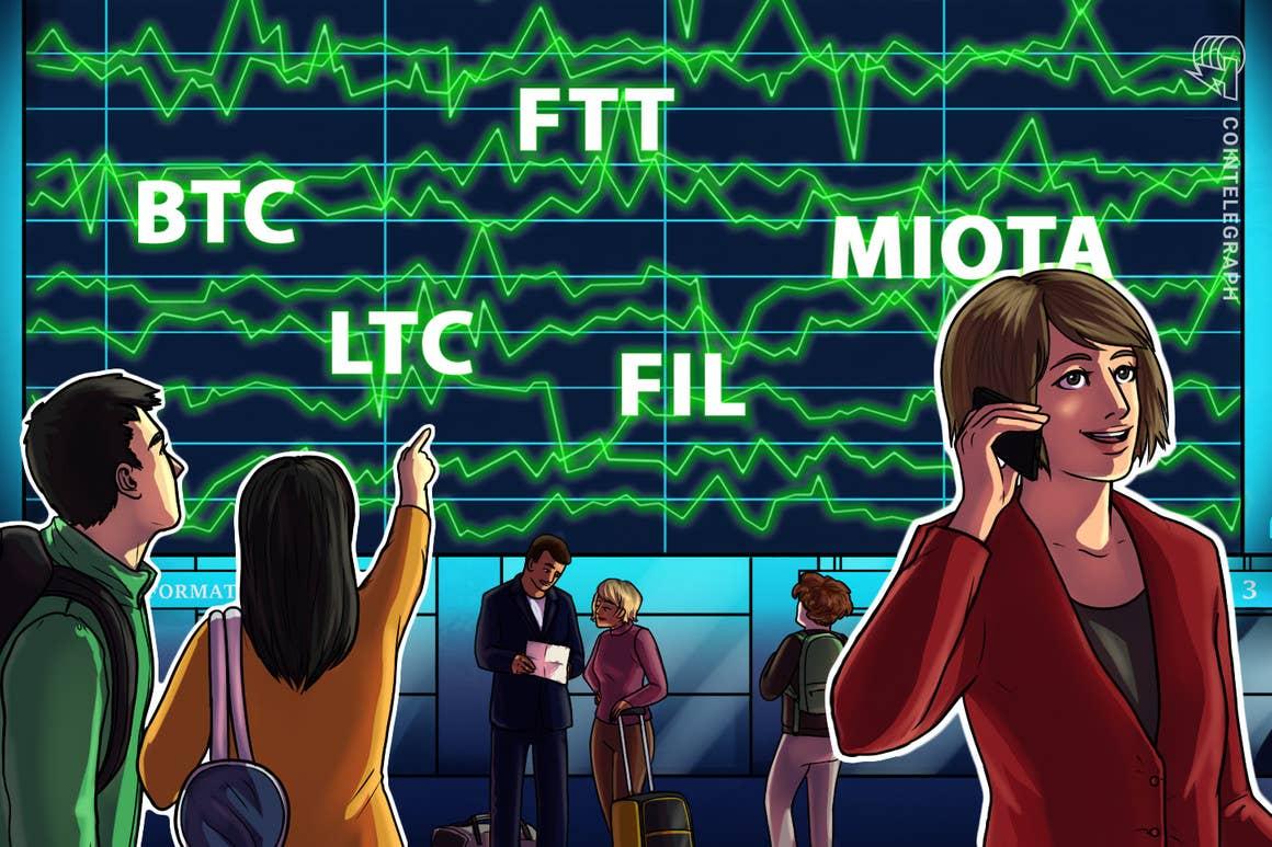 BTC, LTC, FIL, FTT, MIOTA