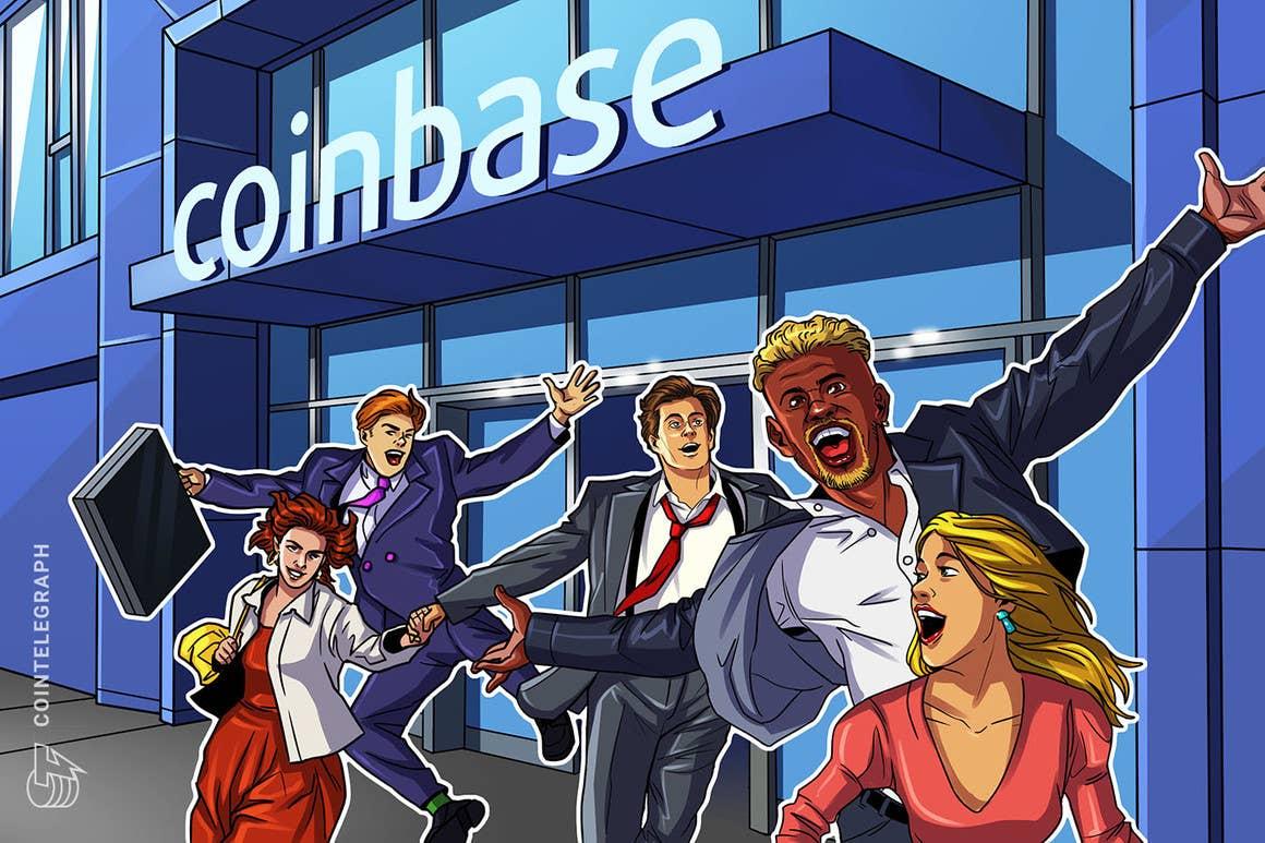 Los usuarios de Coinbase podrán optar por depositar parte de sus cheques de pago directamente a sus cuentas
