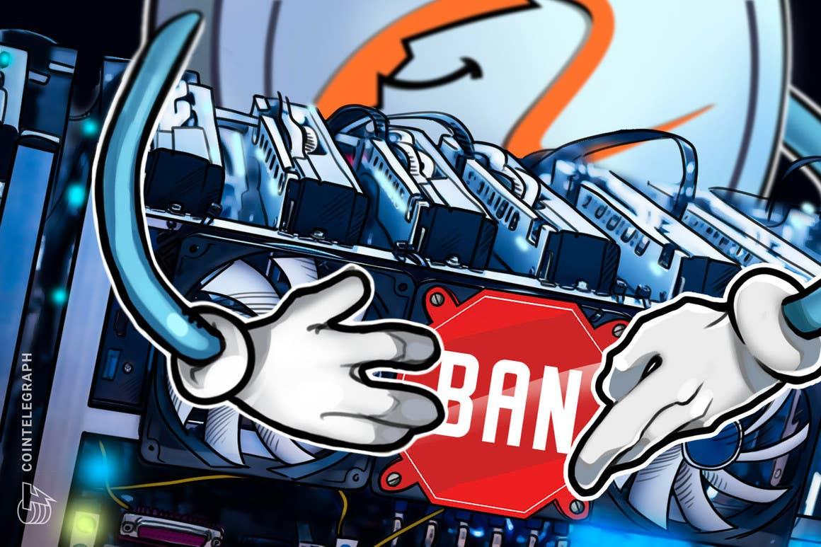 Alibaba prohibirá la venta de mineros de criptomonedas en medio de la represión china