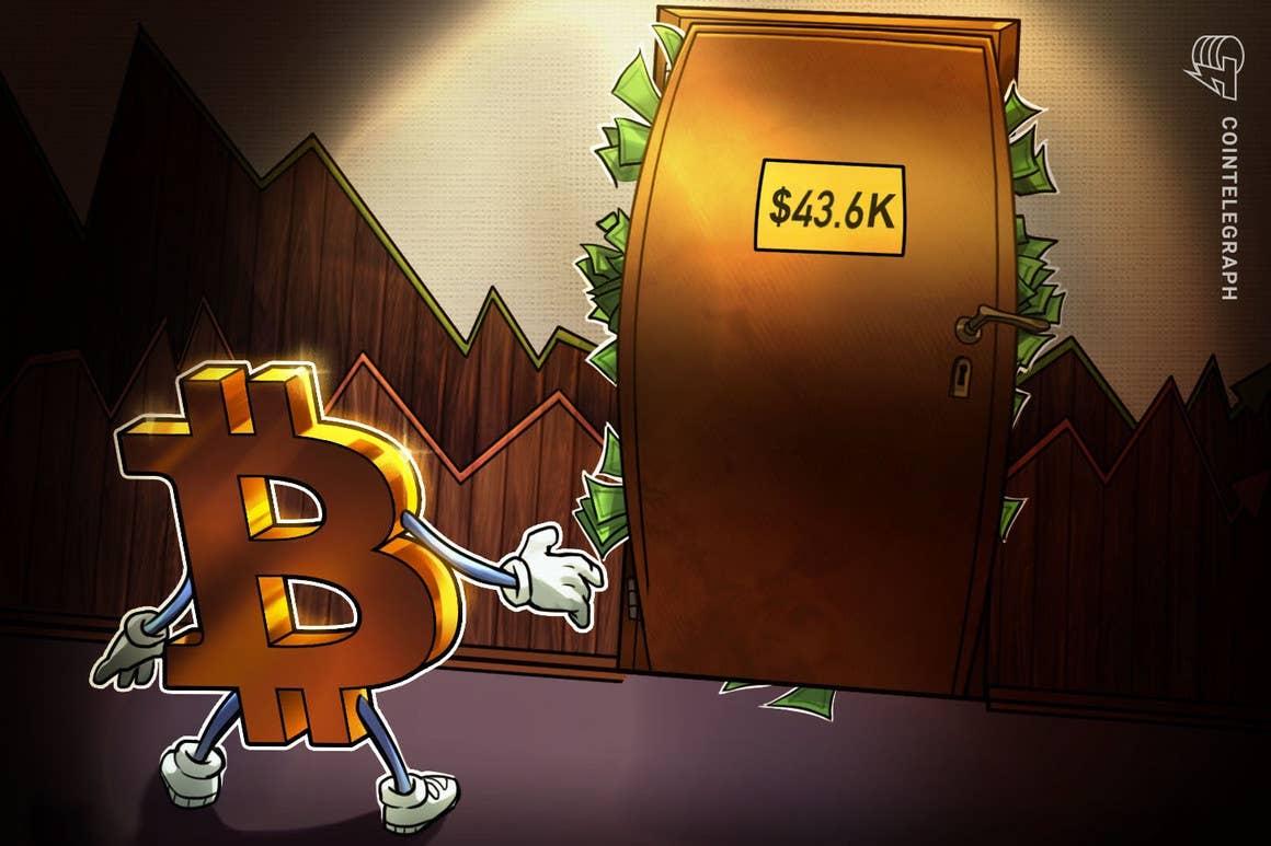 Los traders dicen que el sesgo alcista de Bitcoin sólo será confirmado con un cierre por encima de los USD 44,000