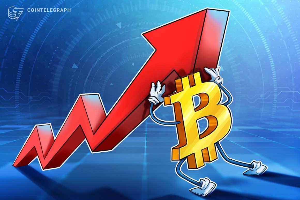 El precio de Bitcoin rebota de nuevo tras perder brevemente el soporte de los USD 40,000