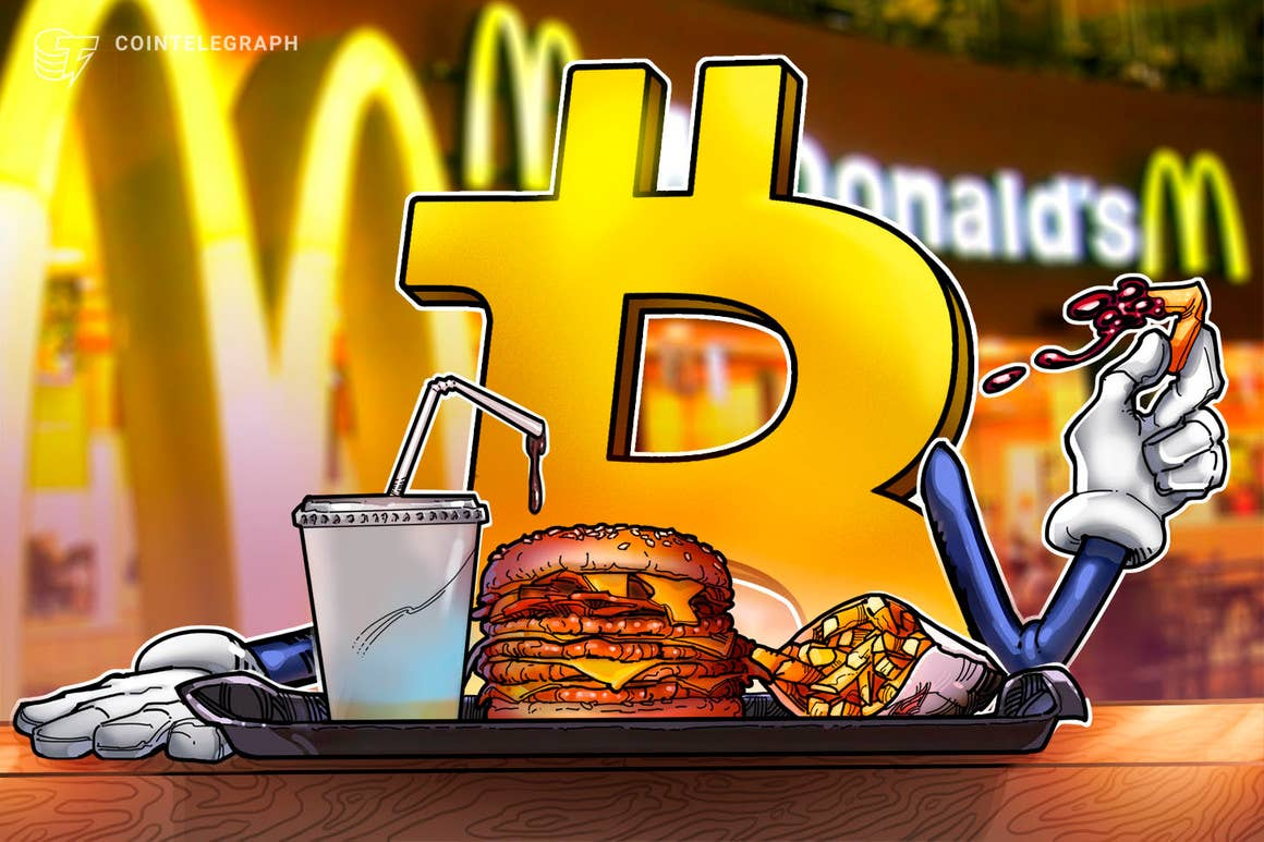 McDonald's ahora acepta Bitcoin, pero solo en El Salvador