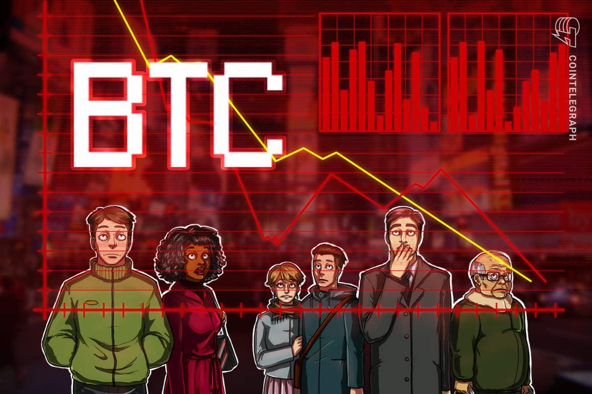 Analistas señalan a los traders sobreapalancados tras la repentina caída del precio de Bitcoin hasta los USD 43,000