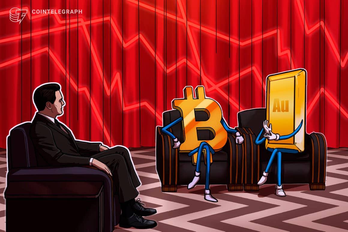 La fuerte caída de Bitcoin desde los USD 50,000 está vinculada a la fortaleza del dólar y el oro