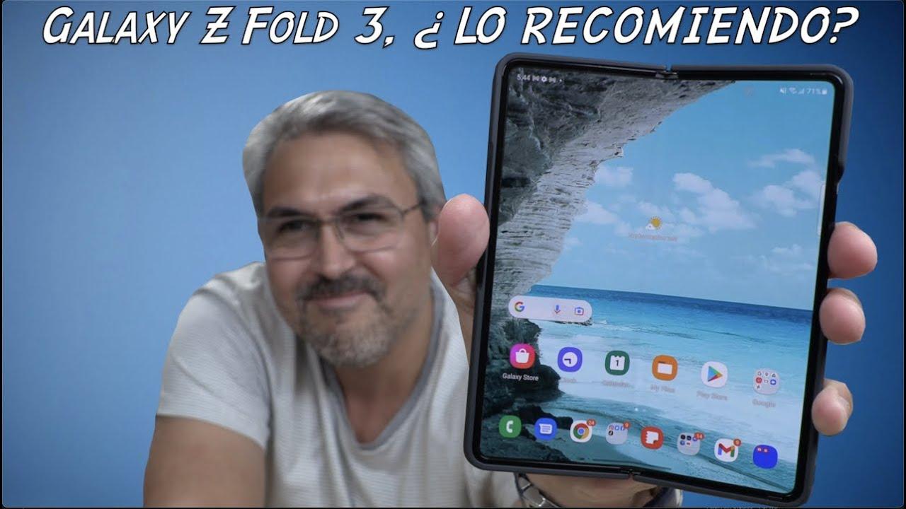 SAMSUNG Galaxy Z Fold 3 REVIEW, es la dirección correcta en Smartphones?