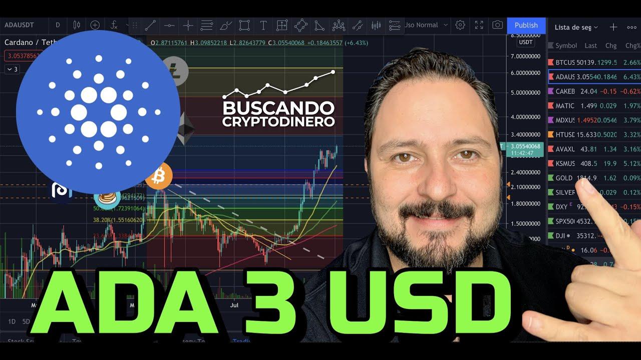 """🔵 CARDANO """"ADA"""" en 3 USD 🙀 + 11 Monedas y Rifa de Litecoin !!"""