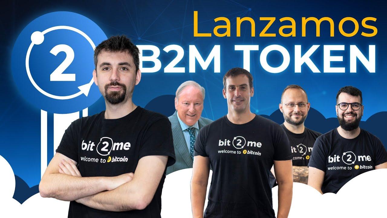 Presentación Oficial de B2M TOKEN con Leif Ferreira (CEO) y el Equipo de Bit2Me – 2021