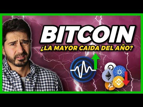 ¡EL MERCADO VUELVE A CAER! La verdad del Crash de Bitcoin y cómo protegerse de las Estafas