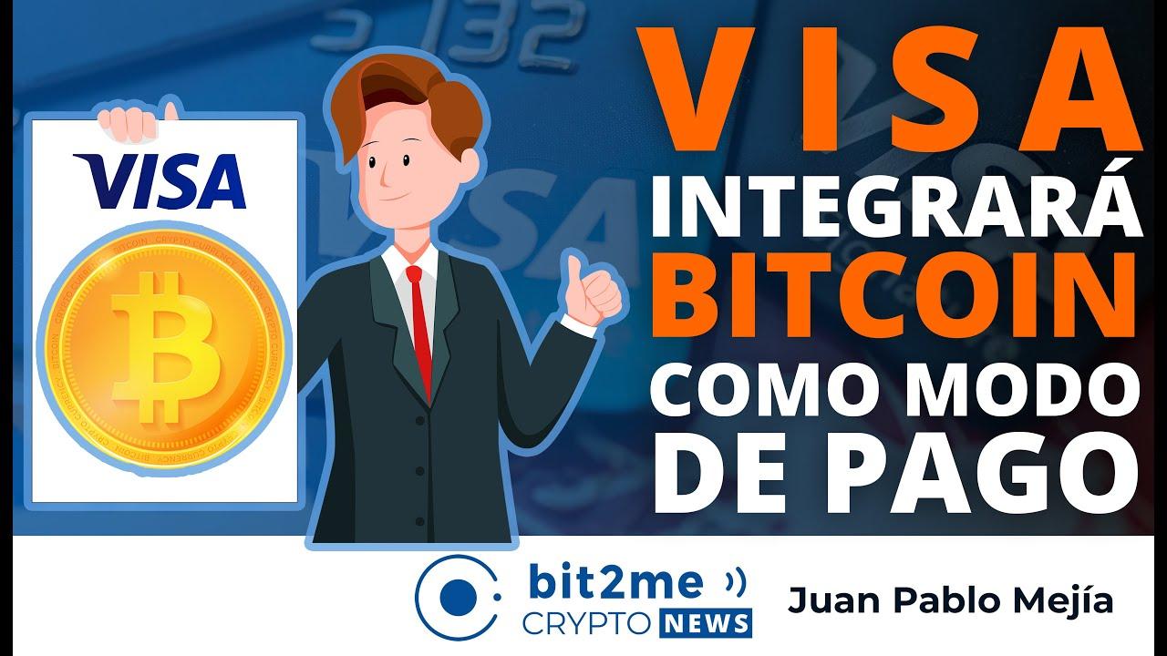 🔵💳 NOTICIAS CRIPTOMONEDAS HOY – VISA integrará BITCOIN como modo de pago en BRASIL