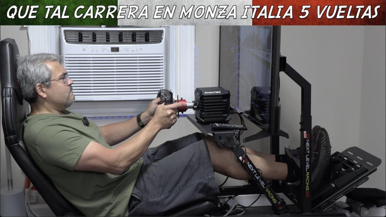 VAMOS Una carrera F1 en el circuito de Monza Italia Velocidad al Máximo
