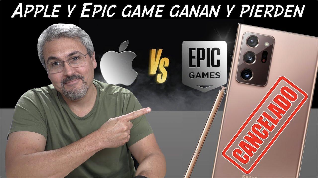No va MAS el Galaxy Note, Apple gana y pierda con Epic Games
