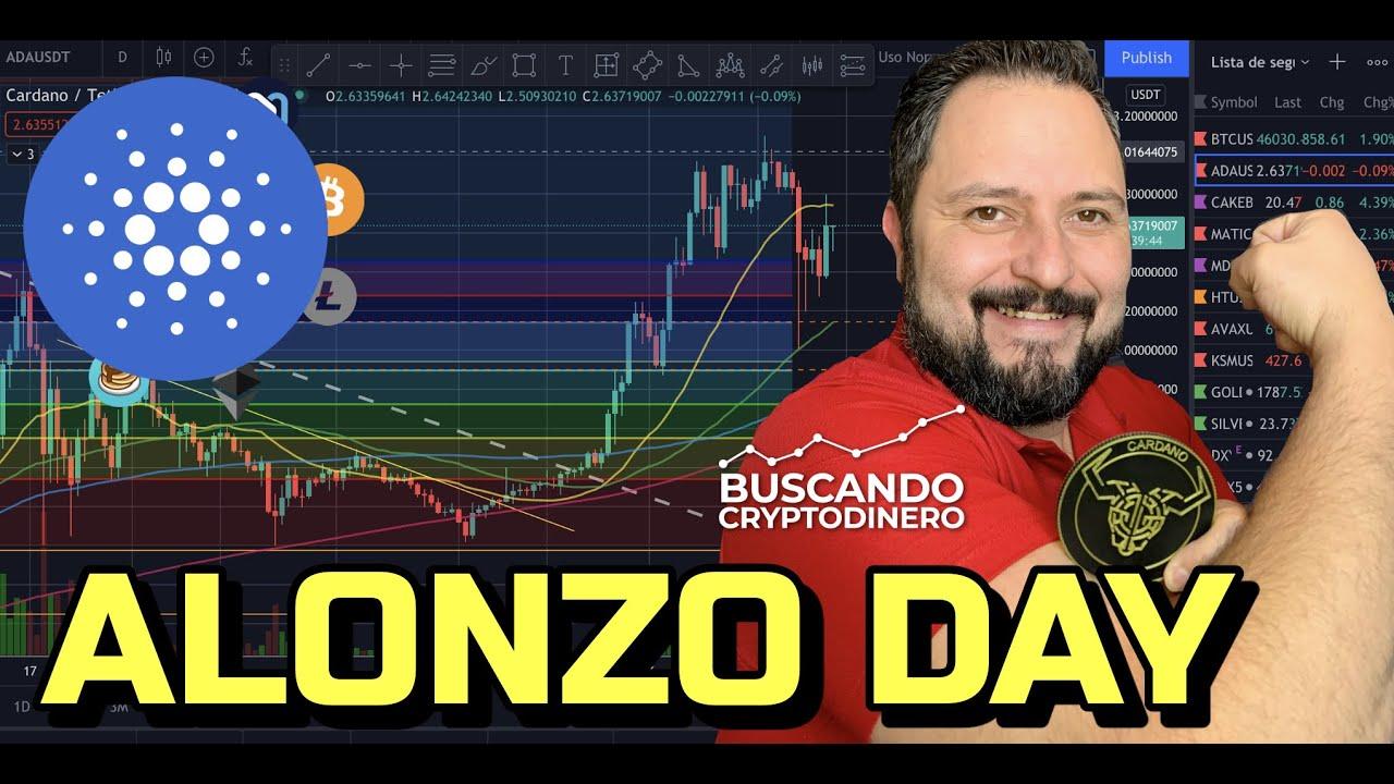 🔵 Cardano = DIA de ALONZO + 12 monedas y Rifa de Litecoin !!