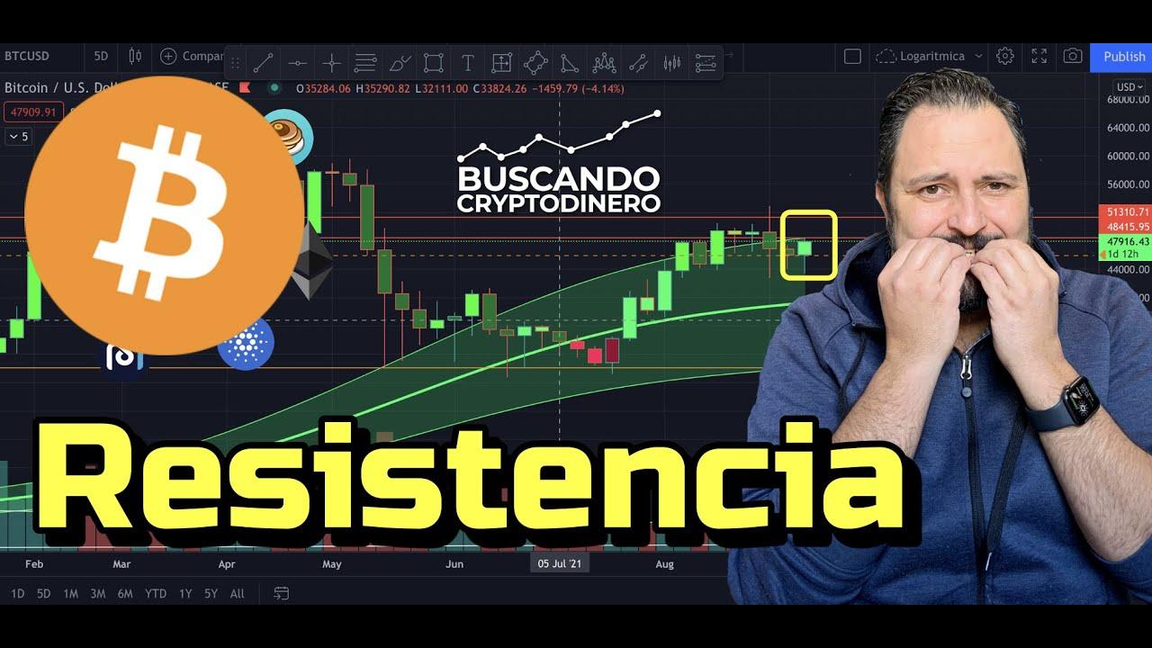 🤔 Bitcoin  ¿Lograra romper con fuerza los 48500k?