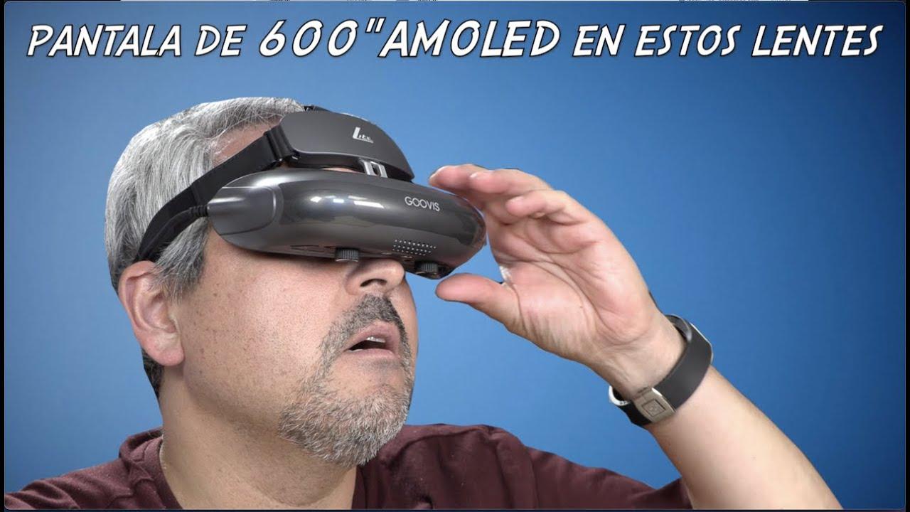 """Los lentes que proyectan una pantalla de 600"""" AMOLED Goovis Lite"""