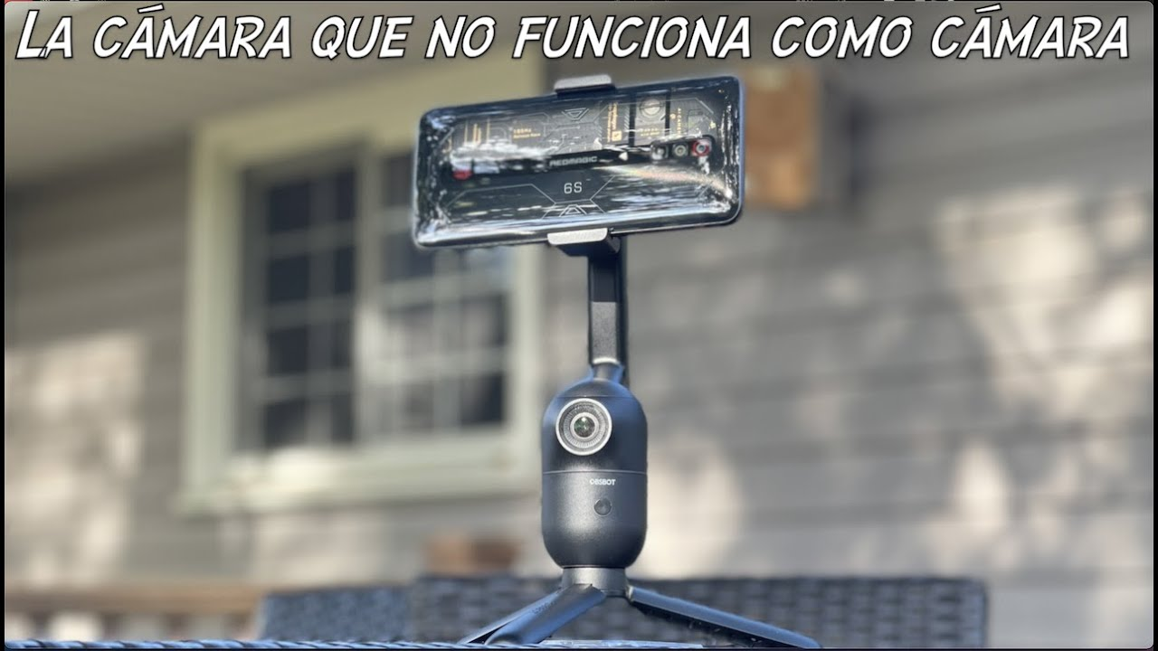 La cámara que no funciona como cámara OBSBOT Me, con Inteligencia Artificial