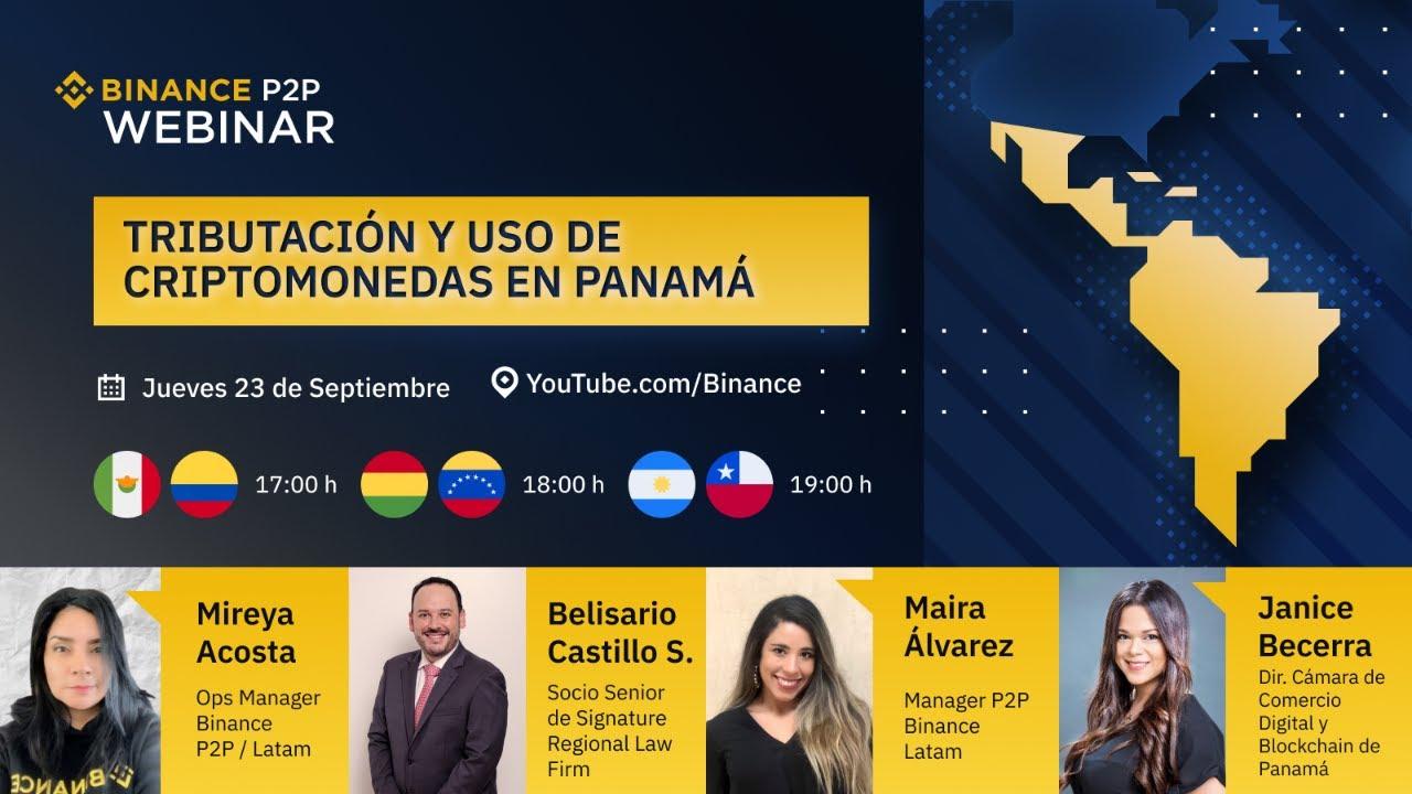 Tributación y uso de las criptomonedas en Panamá