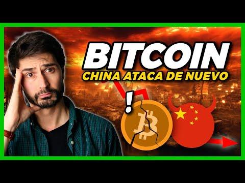 ¡¡LLEGA UNA NUEVA CAIDA DEL BITCOIN!! China Prohibe las Criptomonedas…otra vez