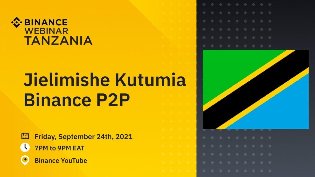 Jielimishe Kutumia Binance P2P (Learn to use Binance P2P)