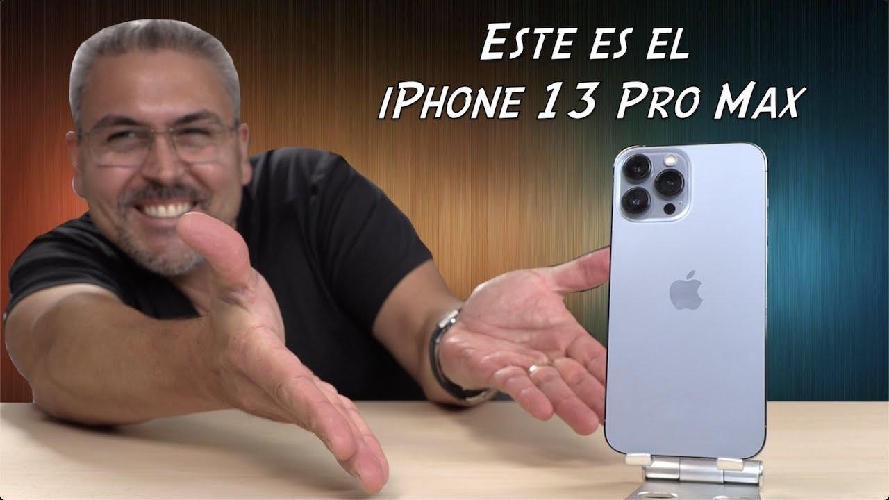 iPhone 13 Pro Max Unboxing Primeras impresiones y comparativa iPhone 12 Pro max