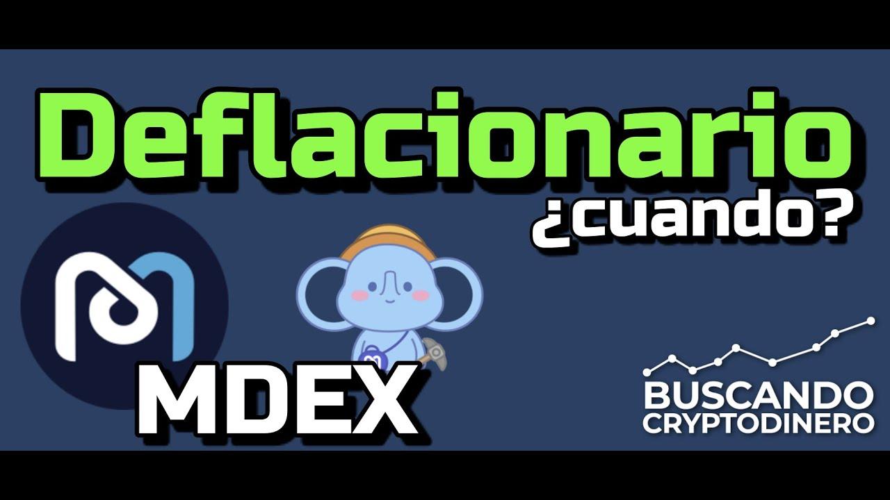 MDEX cuando sera Deflacionario??? #MDX
