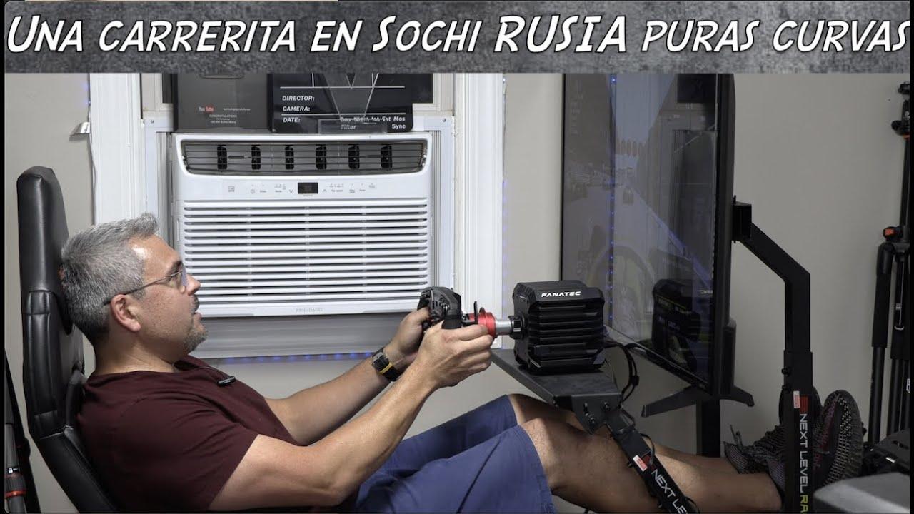 UNA CARRERA DE FORMULA 1 EN EL CIRCUITO DE SOCHI RUSIA