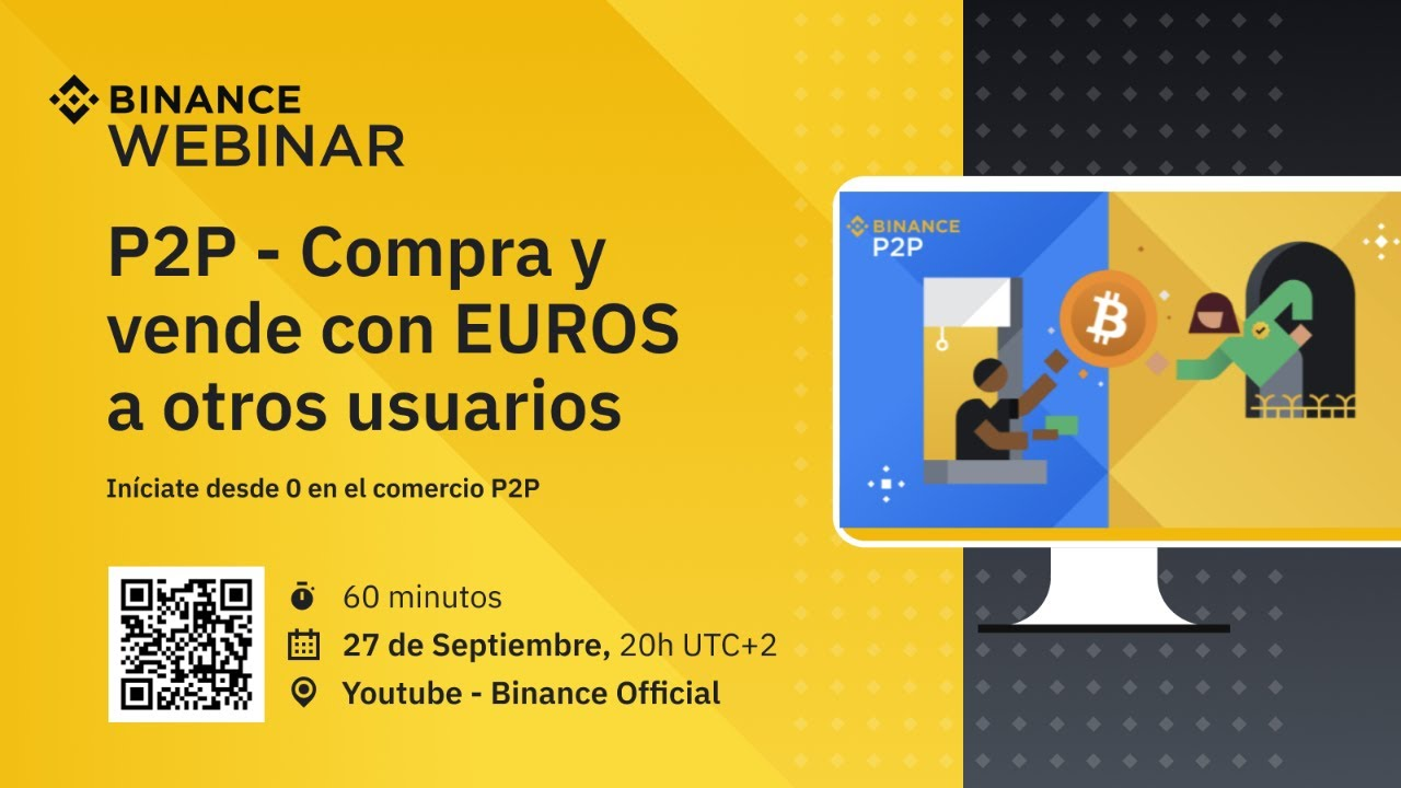 Webinar P2P EUR en español – Binance