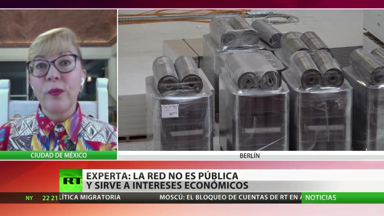 Experta: La Red no es pública y sirve a los intereses económicos de gigantes tecnológicos