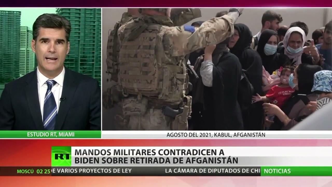 Generales estadounidenses revelan que consideran errónea la retirada de Afganistán