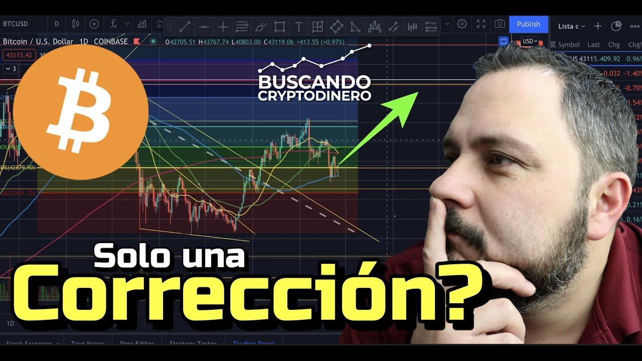 🚀 Bitcoin… ¿Será esto solo una Corrección??