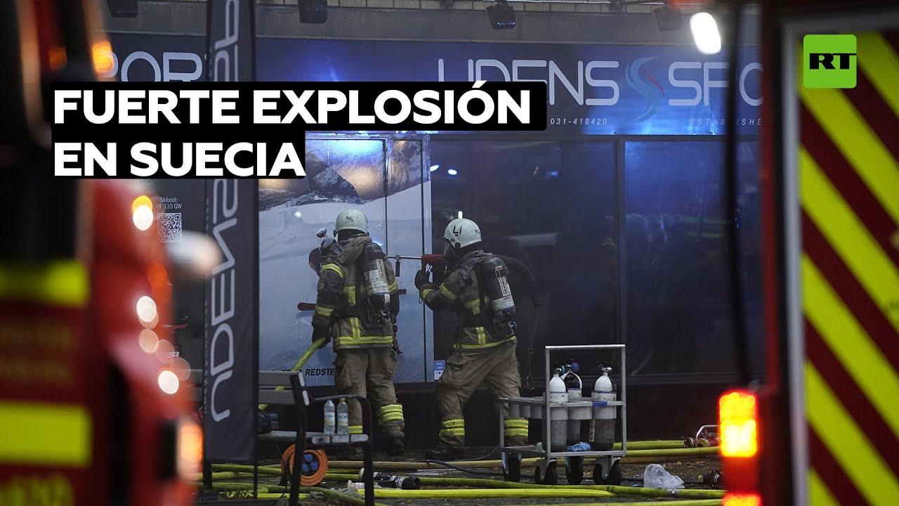 Suecia: Al menos 25 heridos tras una fuerte explosión en un edificio residencial en Gotemburgo