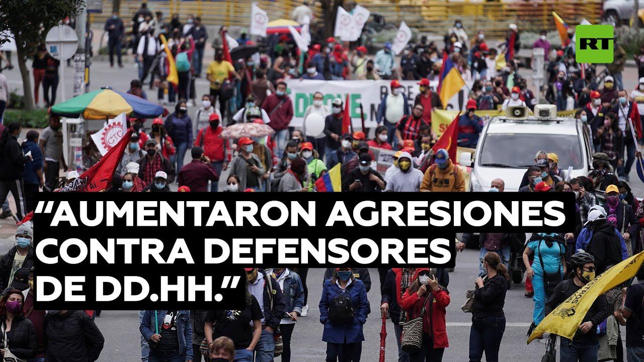 Activista: Las agresiones contra los defensores de los derechos humanos en Colombia han aumentado