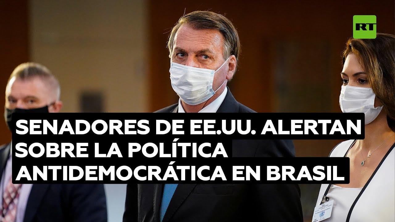 Senadores del Partido Demócrata de EE.UU. alertan sobre la política antidemocrática de Bolsonaro