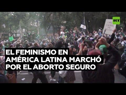 Marchas feministas en Latinoamérica