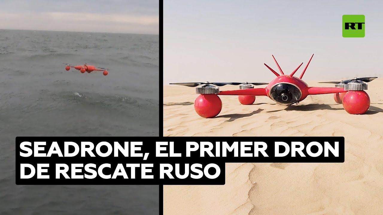 Rusia prueba con éxito su primer dron de rescate de producción nacional
