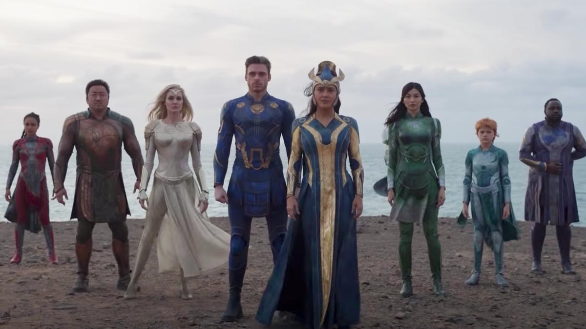 Eternals se estrenará solo en cines y no en Disney+ tras el éxito de Shang-Chi