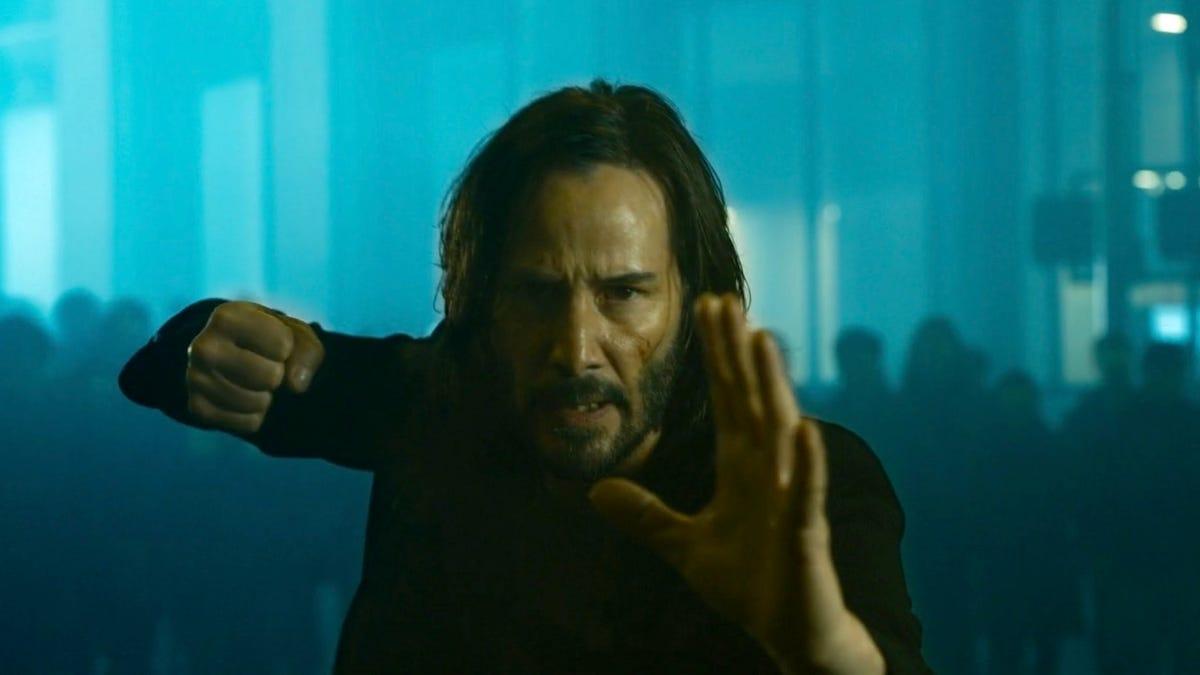 Aquí está primer video e imágenes de The Matrix Resurrections