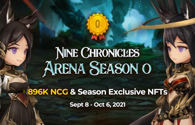El juego de rol descentralizado Nine Chronicles lanza la temporada 0 de Arena