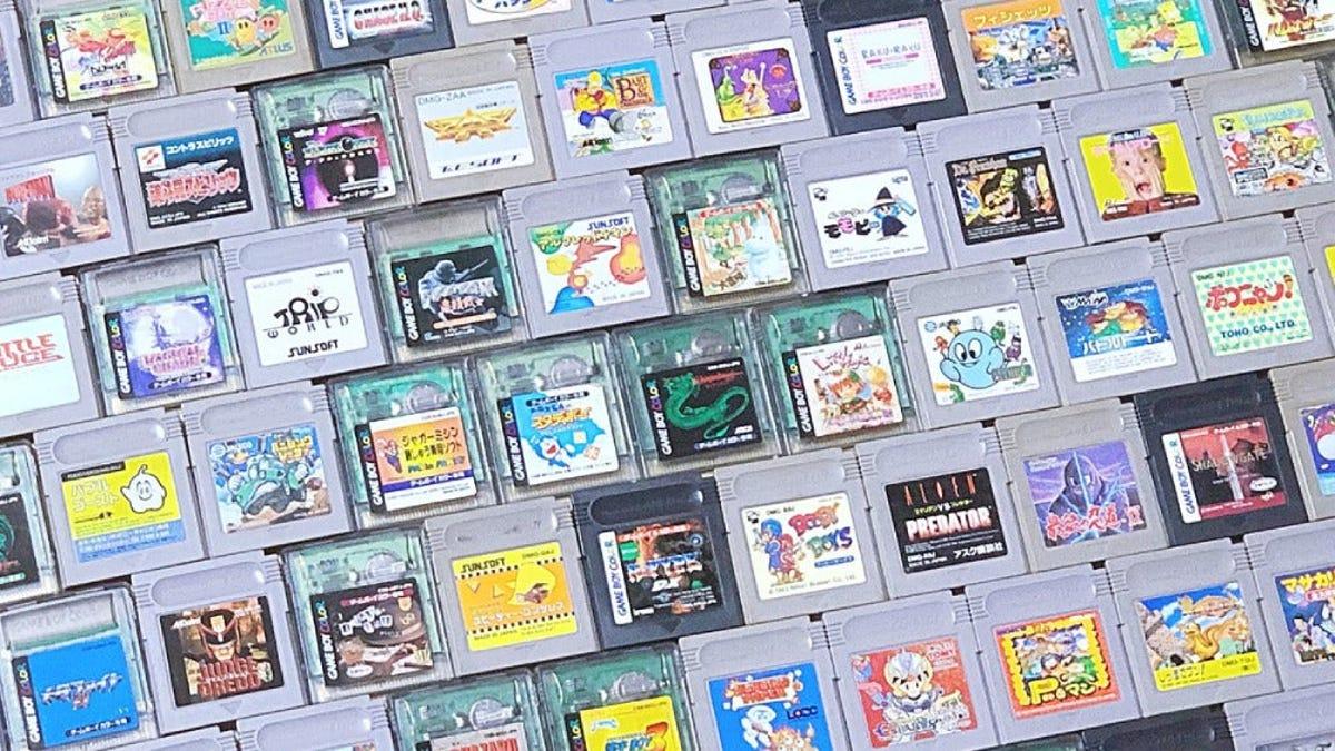 Un fan de Nintendo ha conseguido hacerse con todos los juegos de Game Boy en tan solo dos años
