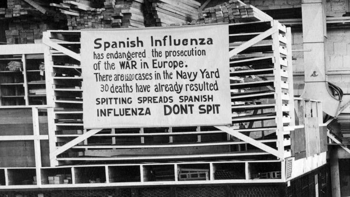 el Covid-19 ha matado tanto como la gripe española de 1918