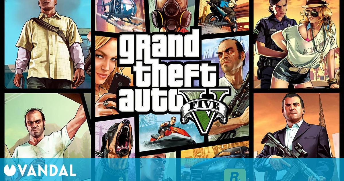 GTA 5 de PS4 fue el juego más vendido en España por quinta semana consecutiva