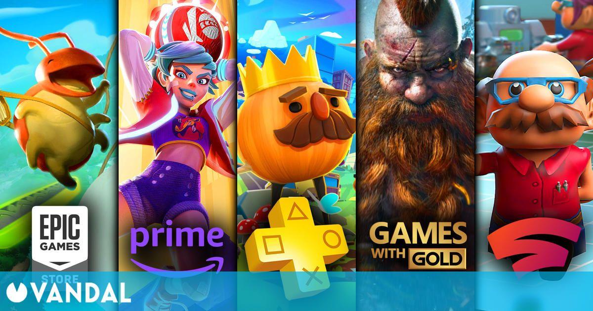 Juegos gratis de septiembre en PS Plus, Xbox Gold, Epic Games, Prime Gaming y Stadia Pro (01/09/2021)