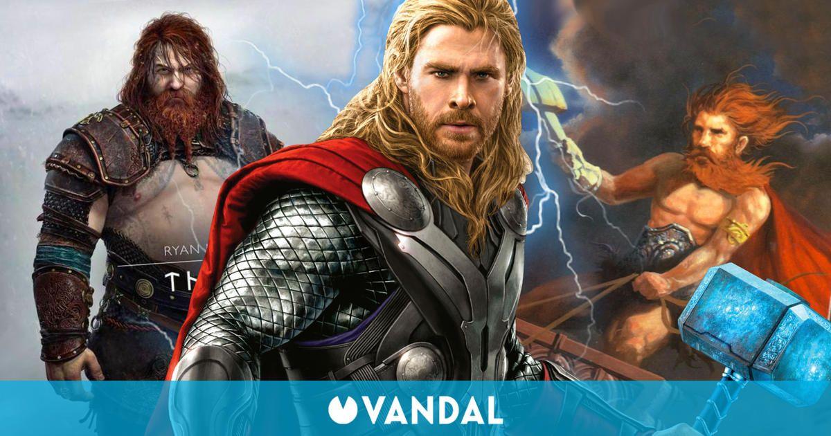 God of War Ragnarok: El diseño de Thor genera debate, pero ¿por qué es así?