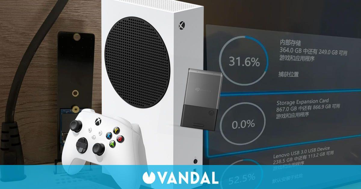 ¿Puede un SSD normal funcionar en Xbox Series X/S? Este modder lo ha conseguido